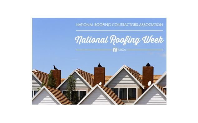 Join Forces To Support National Roofing Week