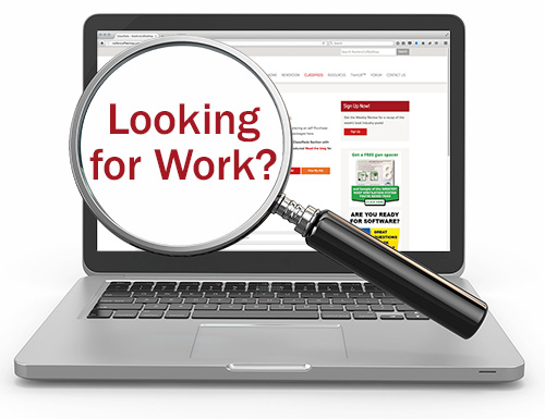 RoofersCoffeeShop.com wants to help you find a job – for FREE!