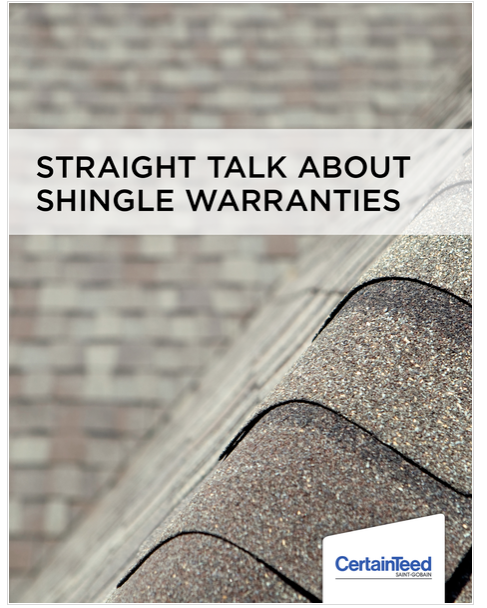 Certainteed - straight talk on shingle warrantys