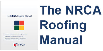 The Latest Volume Of The Nrca Roofing Manual Now Is