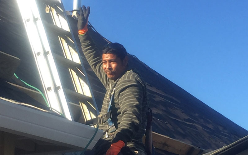 Tresa-Pate-with-Interstate-Roofing-in-Portland-OR-3-Waving-Roofers
