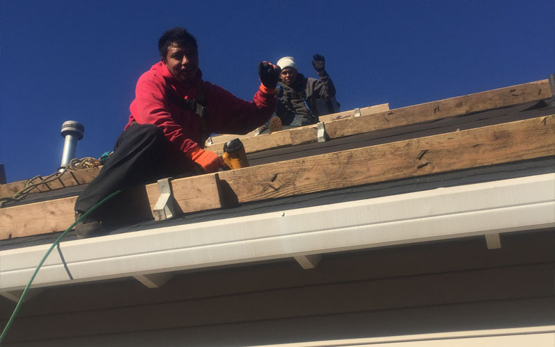 Tresa-Pate-with-Interstate-Roofing-in-Portland-OR-4-Waving-Roofers