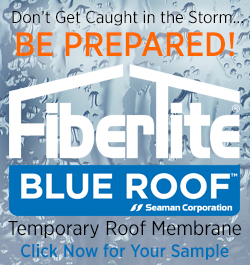 FTR Blue Roof Roofers Coffee Shop banner
