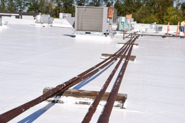 Replacing Wood Block With The Knucklehead Rooftop Support System Rooferscoffeeshop