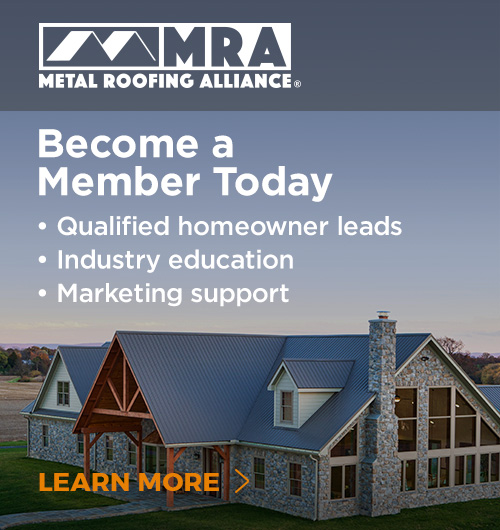 MRA Metal Roofing Alliance - Join
