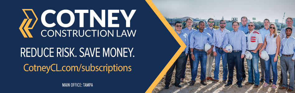 CCL - Cotney Construction Law Subscription Offer
