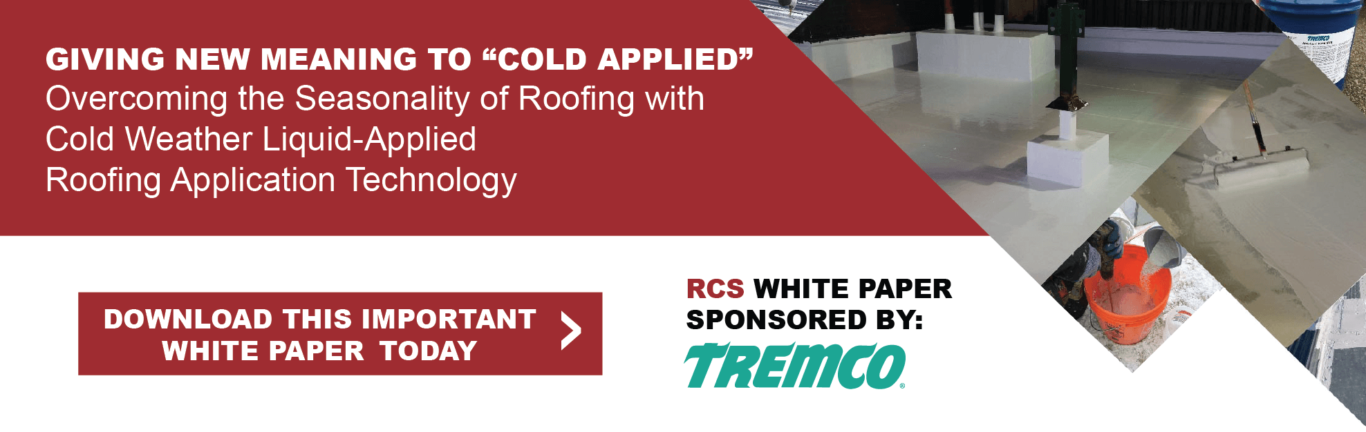 Tremco -  White Paper liquid applied coatings
