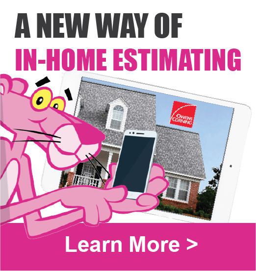 Owens Corning in Home Estimating