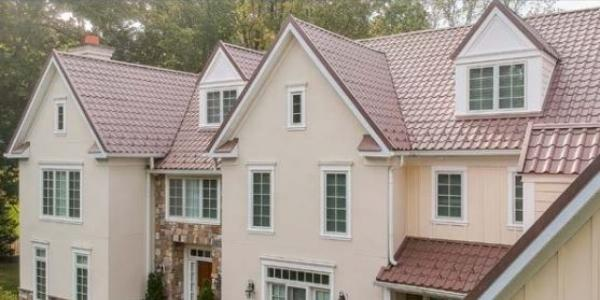Matterhorn Tile Metal Roof Gives Villanova Home A New And Beautiful Identity Rooferscoffeeshop
