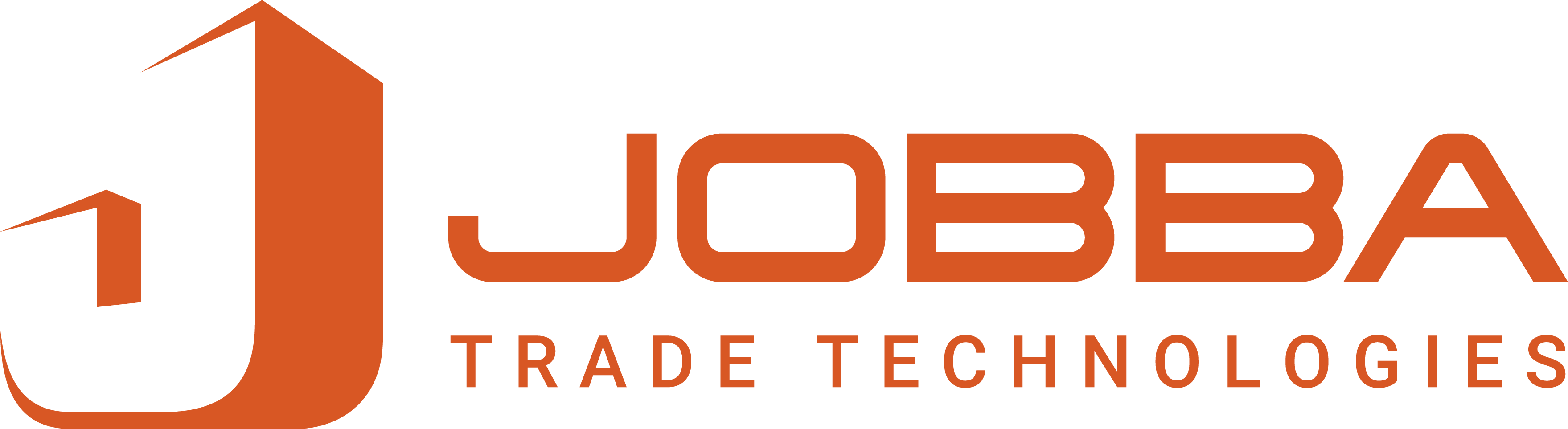 Jobba Trade Technologies - Logo long