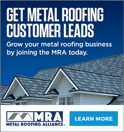 MRA - Sidebar Ad- Get Metal Roofing Leads