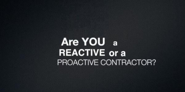 Sales Transformation Group Reactive and Proactive Contractors