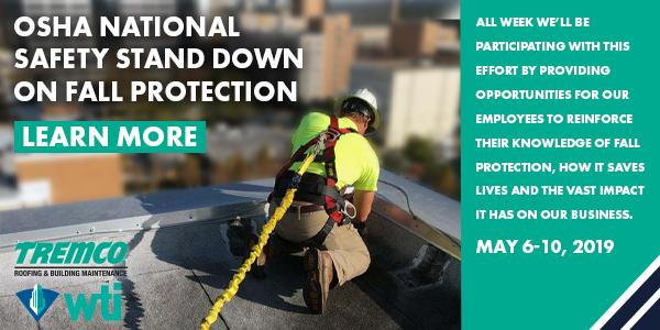 Tremco Roofing To Participate In National Safety Stand