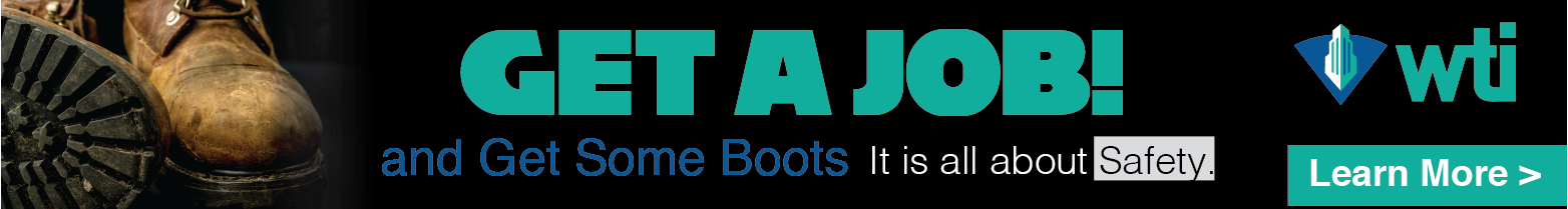 WTI - Banner Ad - Job and some Boots