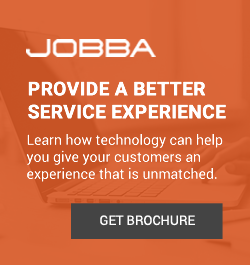 Jobba - Sidebar Ad - Provide a Better Service Experience