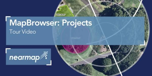 Nearmap MapBrowser Projects