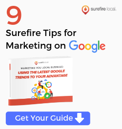 Surefire Local - Sibebar Ad - Marketing on Google
