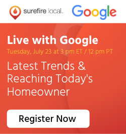 Surefire Local - Sidebar Ad - Live with Google