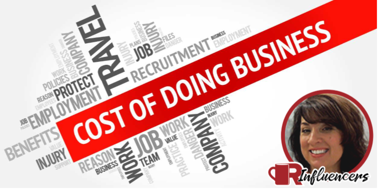 Thea Dudley Cost of Doing Business