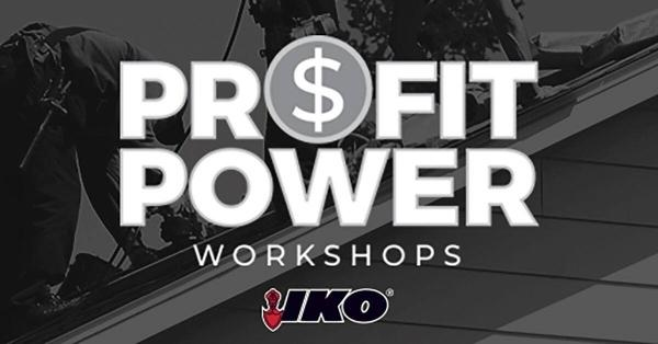IKO Profit Power Assists Roofers