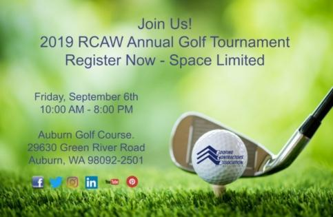 RCAW - 2019 Golf Tournament