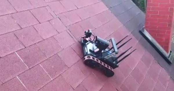 RT3 Inventor Slips on Roof