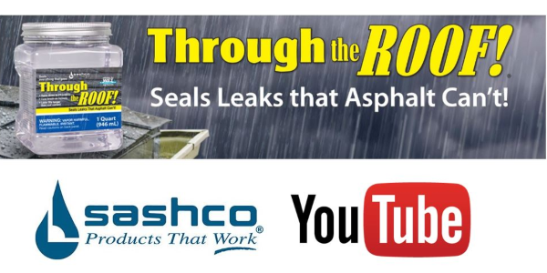 Sashco Solution for Outside Leaks