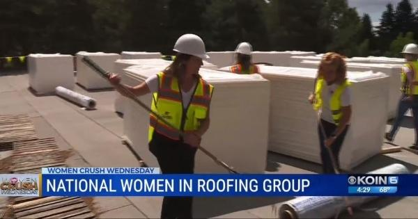 NWIR Women Supported in Roofing Industry