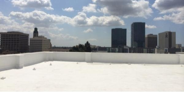 Western Colloid Recoating a Foam Roof