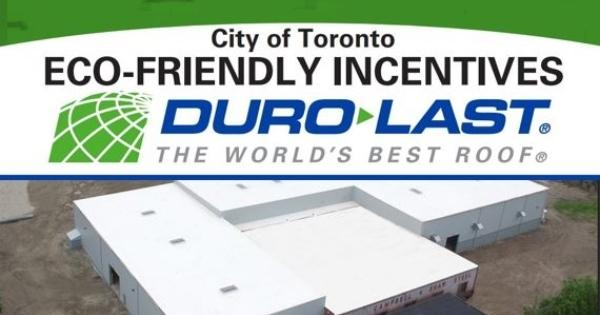Duro-Last Helps Building Qualify for Toronto Grants