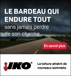 IKO - Sidebar Ad - The Shingle That Can Go The Distance - French