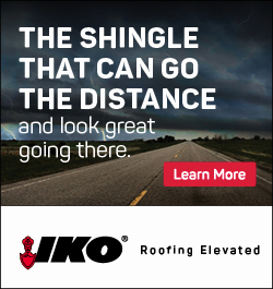 IKO - Sidebar Ad - The Shingle That Can Go The Distance