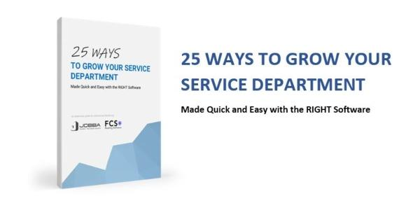 Jobba - Ebook - 25 Way To Grow Your Service Department