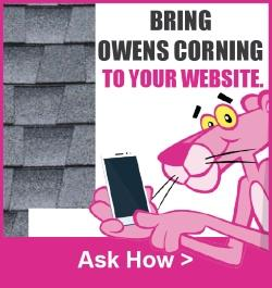 Owens Corning - Sidebar Ad - Bring Owens Corning to your Website
