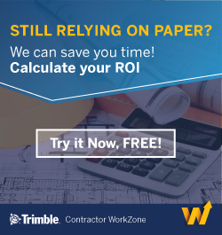 Trimble - Sidebar Ad - Calculate your ROI