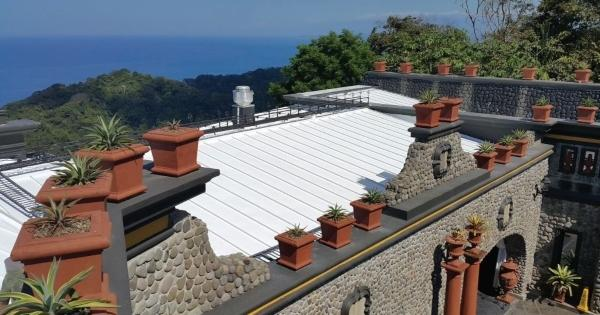 Ge Enduris Roof Coating Beautifies And Protects