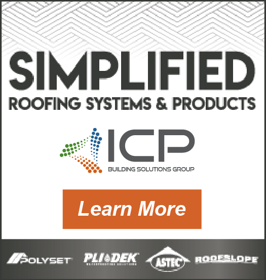 ICP Group  -  Sidebar Ad - Simplified Roofing Systems and Products