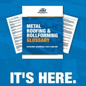 NTM - Ebook- Metal Roofing & Rollforming Glossary