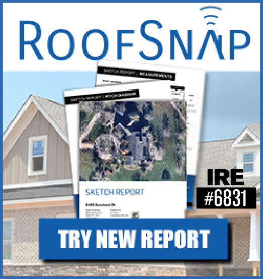 RoofSnap - Sidebar Ad - Try New Report