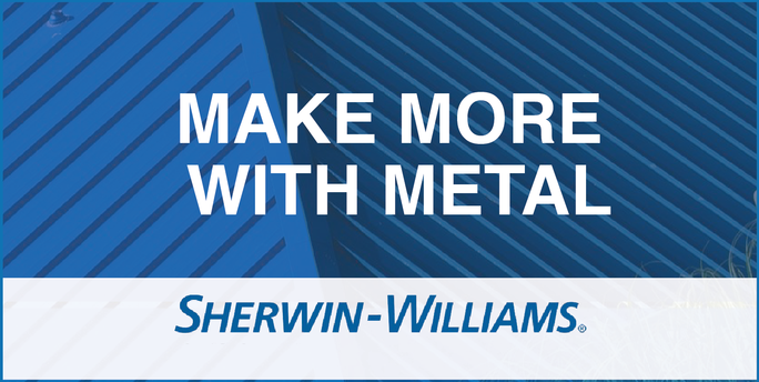 Sherwin Williams Make More with Metal in 2020