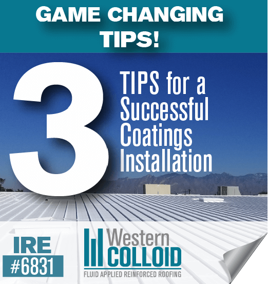 Western Colloid -  Sidebar Ad - 3 Invaluable Tips
