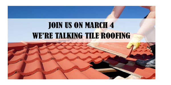 Arca And Nwir Az Lunch And Learn Tile Roofing