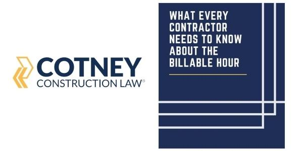 Cotney Construction Law eBook Billable Hours