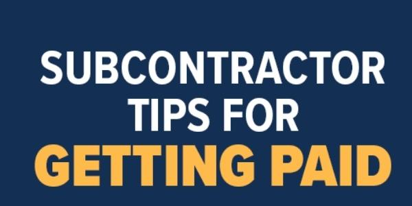 Cotney Construction Law Tips for Subcontractors