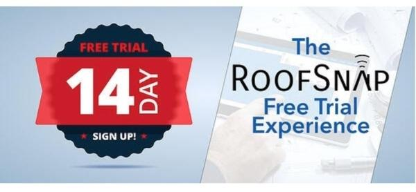 RoofSnap Free Trial Experience