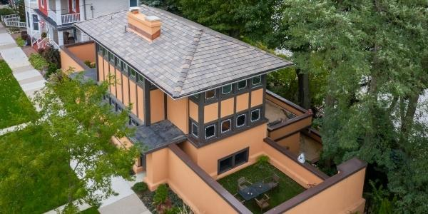 Reroofing a Frank Lloyd Wright Home — RoofersCoffeeShop®