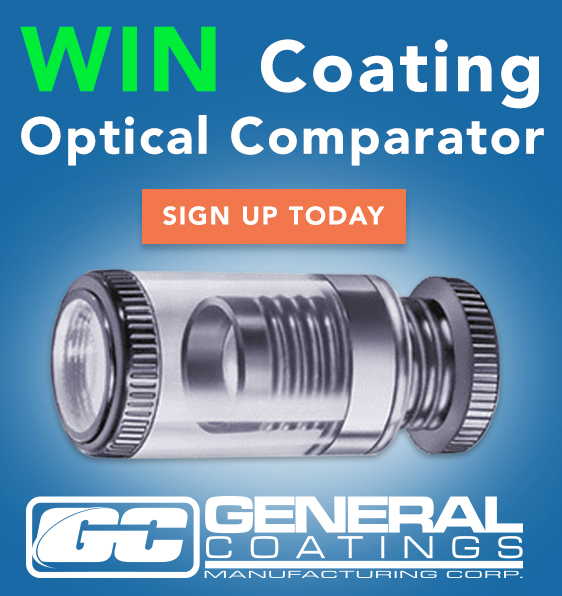 General Coatings - Sidebar Ad - Win Optical Comparator