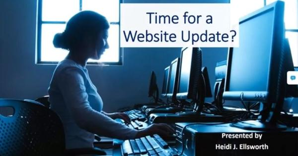 Heidi Ellsworth - Time for a Website Update