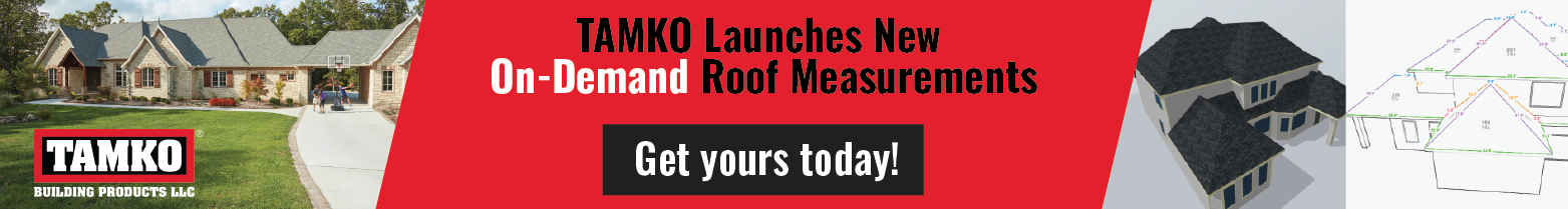 TAMKO - Banner Ad - Roof Measurements