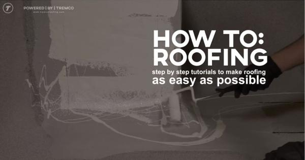 Tremco - How to Roofing Instructional Videos by Corey